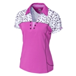 CB DryTec S/S Candy Dot Polo