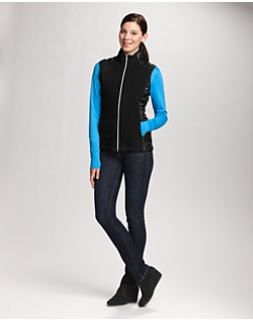 Arboretum Full Zip Fleece Vest