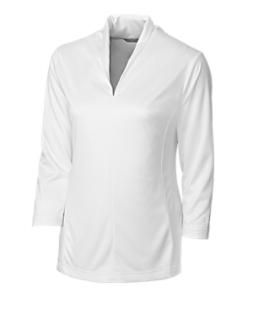 CB DryTec 3/4 Sleeve Kavanagh V-neck