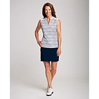 CB DryTec S/L Blue Water Printed Polo