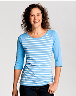Revel Stripe 3/4 Sleeve