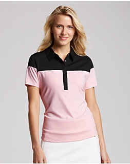 James Colorblock Polo