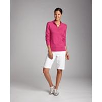 Michele L/S Half Zip Mock Sweater
