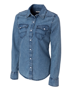 L/S Wild Card Denim Shirt
