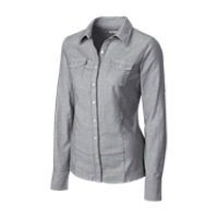 L/S Ladies Round Robin Oxford