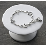 Brighton Etched Heart Bracelet