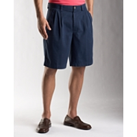 B&T Eastlake Solid Pleated Short