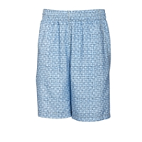 B&T Cross Hatch Printed Swim Trunk