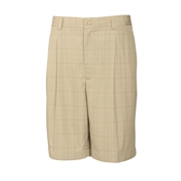 B&T Canal Plaid Pleated Short