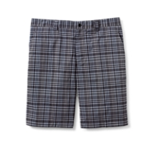 CB DryTec Evening Plaid Flat Front Short