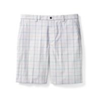 CB DryTec Samuel Plaid Flat Front Short