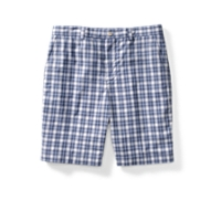 Sherwood Plaid Flat Front Short