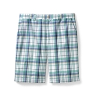 Hales Plaid Flat Front Short