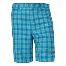 McKinley Plaid Flat Front Short