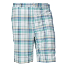 B&T Hales Plaid Flat Front Short