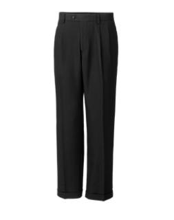 Twill Microfiber Pleated Pant