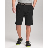 B&T Twill Microfiber Pleated Short