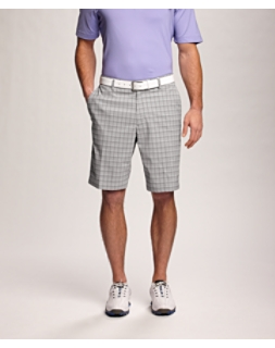CB DryTec Flat Front Willard Plaid Short
