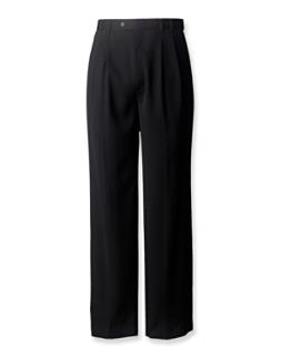 Gabardine Microfiber Cuffed Trouser