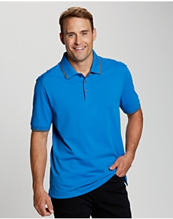 B&T CB DryTec Cotton+ Advantage Tipped Polo
