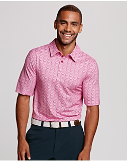 Coverage Print Polo