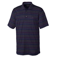 70/2's Performance River Stripe Polo