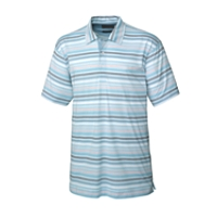 70/2's Performance Tide Stripe Polo