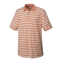 B&T B&B Oxford Stripe Polo