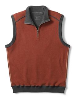 B&T Essex Reversible Half Zip Vest
