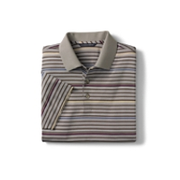 70/2's Performance Hazelton Stripe Polo