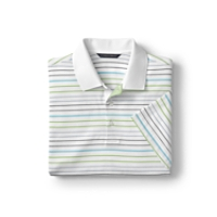 70/2's Performance Magnolia Stripe Polo