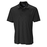 CB DryTec Luxe Embossed Diamond Polo