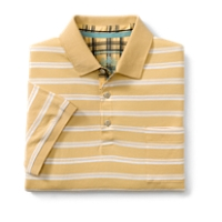 B&T Woodlawn Stripe Polo