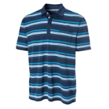 Victory Heights Striped Polo