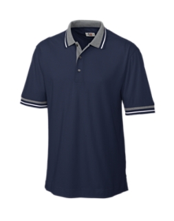 Hook Shot Tipped Pique Polo