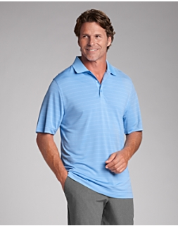 B&T CB DryTec Franklin Stripe Polo