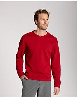 L/S Pima Decatur V-Neck