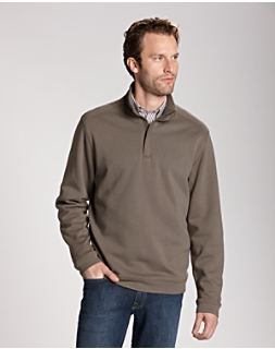 L/S Pima Decatur Half-Zip