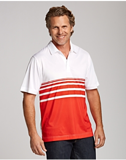 CB DryTec James Engineered Stripe Polo