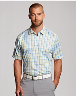 Analog Plaid Polo