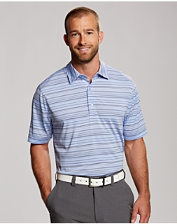 Radiant Stripe Polo