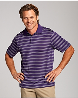 CB DryTec Backspin Stripe Polo