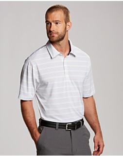 Binary Stripe Polo