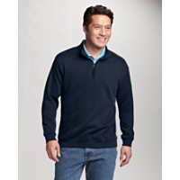 B&T Journey Supima Flatback Half Zip
