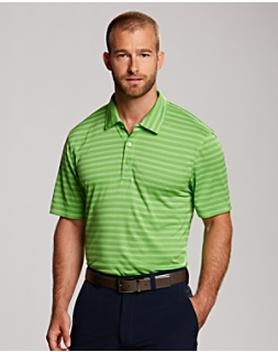 Tilton Melange Stripe Polo