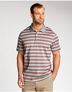 B&T S/S Oasis Mercerized Stripe