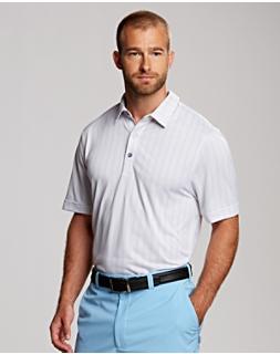 B&T Hamden Jacquard Polo