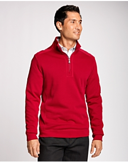 B&T L/S Bayview Half-Zip