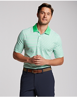 B&T S/S Seapines Stripe Polo