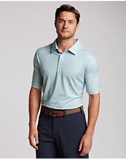 Province Plaid Print Polo